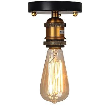Apliques de techo vintage,Lampara del Techo, Iluminación de ...