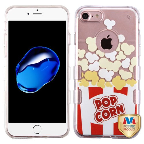 Asmyna Cell Phone Case for Apple iPhone 7 - Butter Popcorn-Movie Time Collection