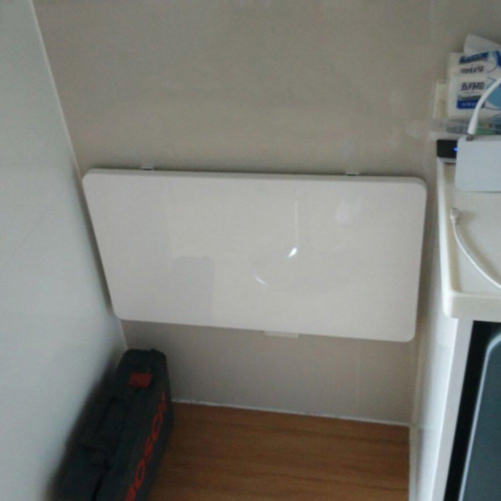 折りたたみ式コンピュータデスク壁掛け式ダイニングテーブル白いデスクトップノートパソコンテーブルパーティション壁収納ラック (サイズ さいず : 50cm*30cm) B07DNMDL7F 50cm*30cm 50cm*30cm