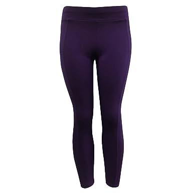 Pantalones Yoga Mujeres Mallas Deportivas Mujer Mujer Color Sólido ...