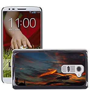 Hot Style Cell Phone PC Hard Case Cover // M00115029 Turkey Istanbul Sky Animal Sunset // LG G2 D800 D802 D802TA D803 VS980 LS980