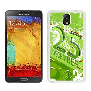 Personalized Merry Christmas White Samsung Galaxy Note 3 Case 56