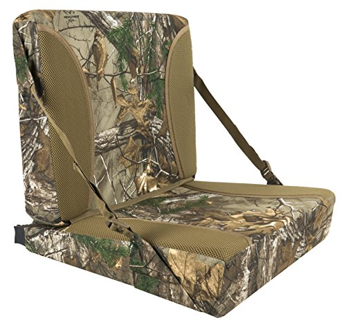Northeast Products Therm-A-SEAT Supreme D-Wedge Self-Supporting Hunting Chair/Seat Cushion, Mossy Oak Infinity, Full - Oak Plain Wedge