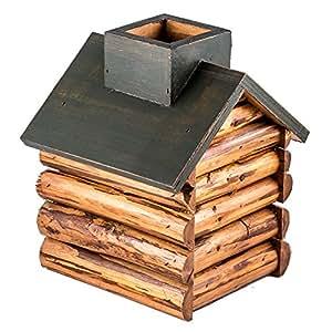 Cabaña de madera caja de pañuelos Marketing mtong