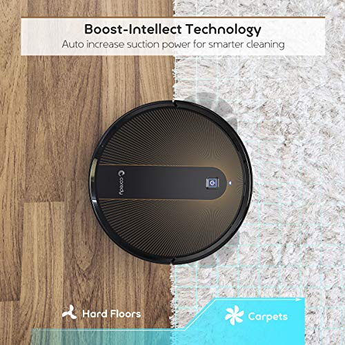 Coredy R750 Robot Vacuum Cleaner, Compatible with Alexa, Mopping System, Boost Intellect, Virtual Boundary Supported… 5