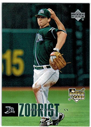 2006 Upper Deck Ben Zobrist Rookie Card #1194 - 2016 Cubs World Series ()