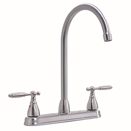 Vccucine Well Recommended Lead Free High Arc Goose Neck Two Lever