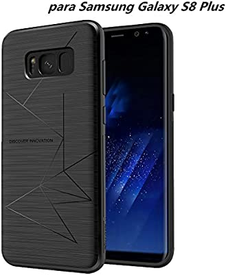 Nillkin Samsung Galaxy S8 Plus Funda, Flexible Suave TPU Caso Contraportada [Compatible Cargador Inalámbrico Coche] para Samsung Galaxy S8 Plus 2017 ...