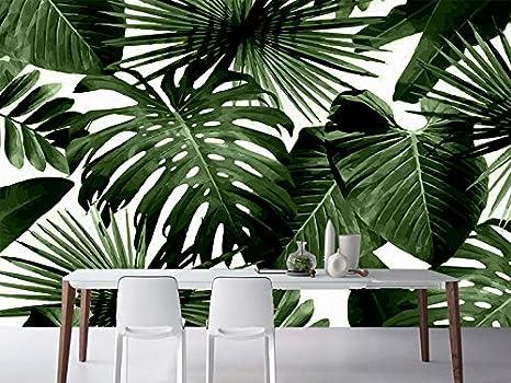 Carta Da Parati Foresta Tropicale : Fotomurali paesaggio carta da parati d foglie di palma foto