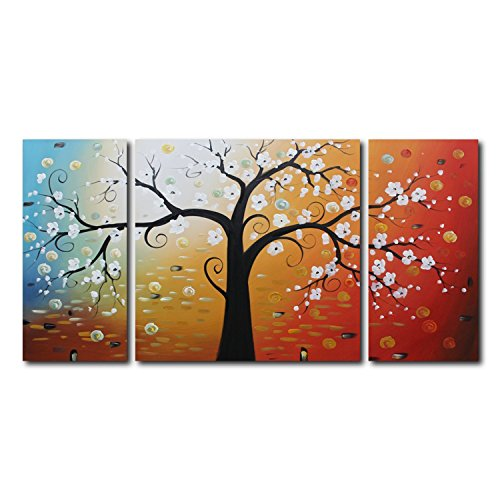 vasting-art-3-panel-100-hand-painted-oil-paintings-landscape-plant-pear-flowers-floral-modern-abstra