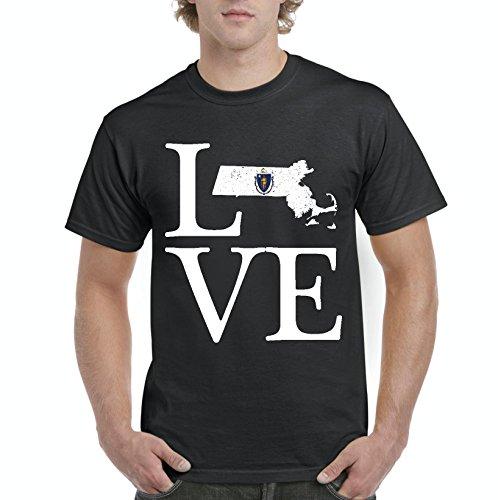 NIB Love Massachusetts State Flag Traveler`s Gift Men's