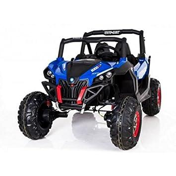 Voiture électrique 2 places 24V Buggy UTV-MX Bleu - Pack Luxe ... 0a7684a39ed9