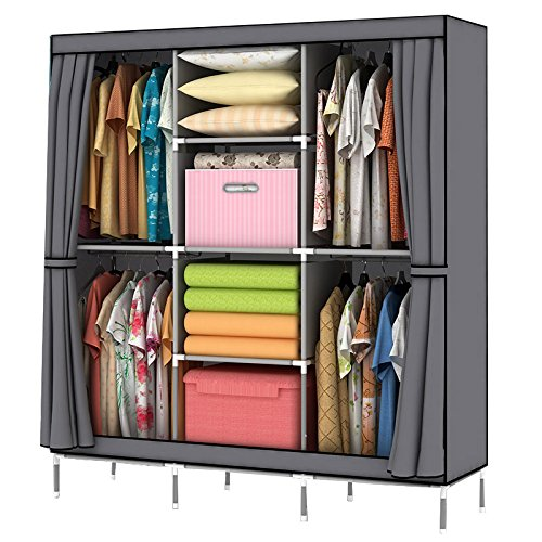 youud-christmas-gift-portable-clothes-closet-wardrobe-non-woven-fabric-storage-organizer-with-shelve