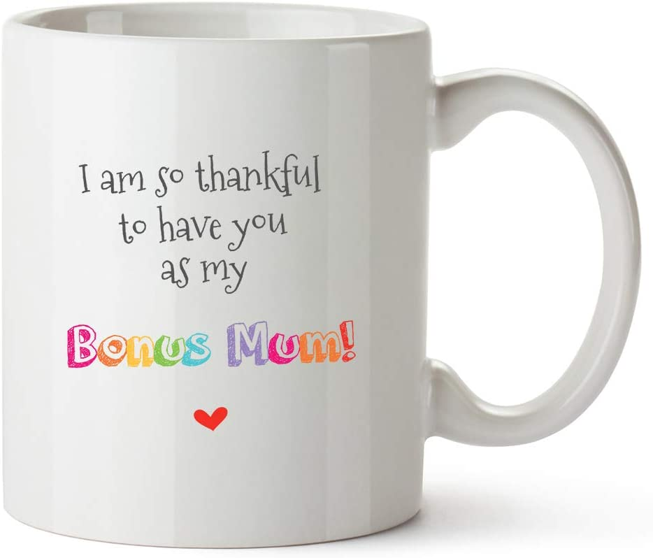 Thank You Bonus Mum MugChristmas Gift for StepmumXmas Present Foster Mum,