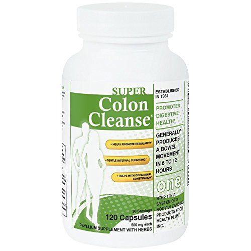 Super Colon Cleanse, 500mg-120 Capsules