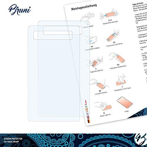 Bruni Schutzfolie für Huion H640P Folie, glasklare
