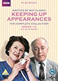 DVD : Keeping Up Appearances (Complete Collection - Series 1-5) - 8-DVD Box Set ( Keeping Up Appearances - Series One - Five (40 Episodes) ) [ NON-USA FORMAT, PAL, Reg.2 Import - United Kingdom ]