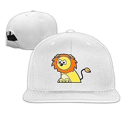 Design Your Own Unisex Snapback Adjustable Truck Cap Sports Travel Hat Natural, Animals Cartoon Baseball Flat Hat