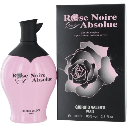 Rose Noire Absolue by Giorgio Valenti Eau De Parfum Spray for Women, 3.3 Ounce (Giorgio Scented Perfume)