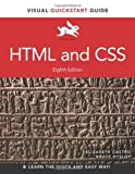 img - for HTML and CSS: Visual QuickStart Guide (Visual QuickStart Guides) by Elizabeth Castro (2013-08-09) book / textbook / text book