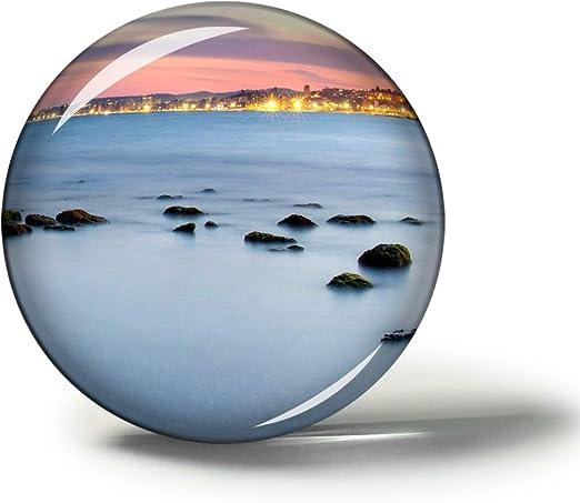 Hqiyaols Souvenir España Fuengirola Imanes Nevera Refrigerador Imán Recuerdo Coleccionables Viaje Regalo Circulo Cristal 1.9 Inches: Amazon.es: Hogar