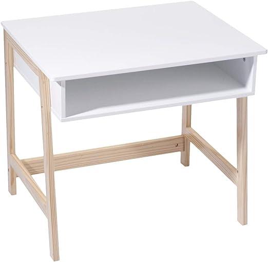 Escritorio de madera para niños – Práctico y Astuto – Estilo ...