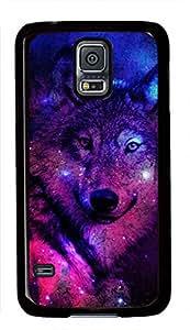 Galaxy Space Wolf Theme Samsung Galaxy i9600 S5 Case