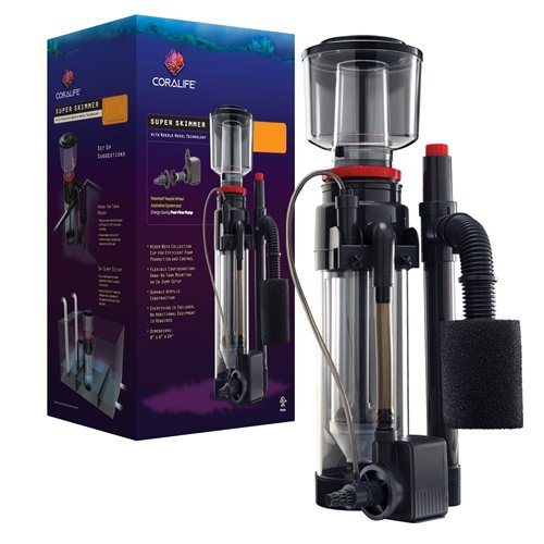 [Coralife Energy Savers ACL33004 Super Skimmer W/Pump 220gal] (Needle Wheel)