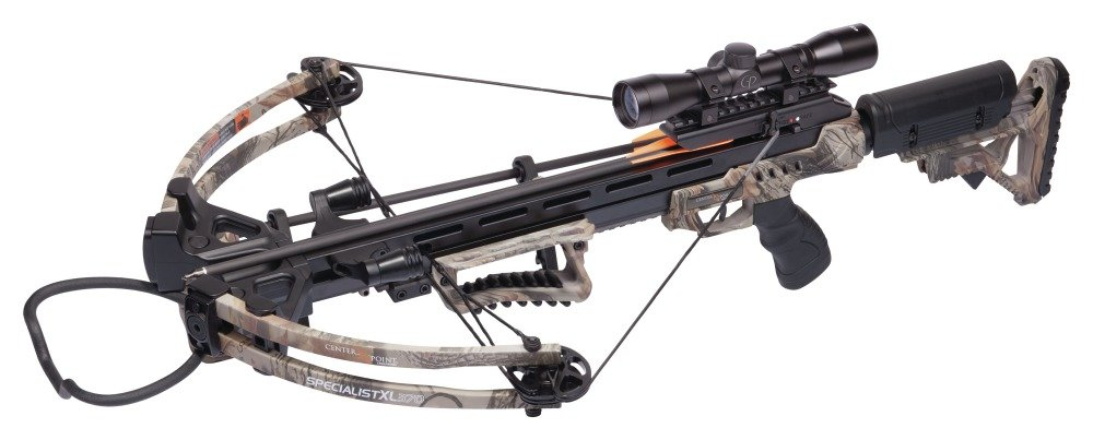 CenterPoint Specialist XL 370 Camo- Crossbow Package by CenterPoint