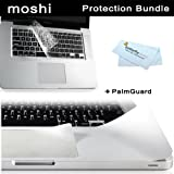 Moshi MacBook Pro 13-Inch Protection Bundle Kit includes Moshi ClearGuard Keyboard Protector for MacBook 13-Inch+ Moshi PalmGuard for MacBook 13-Inch Unibody + BONUS ButterflyPhoto Micro Fiber Cleaning Cloth
