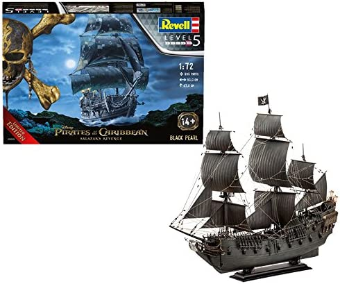 Revell Marquets Pirates of The Caribbean Dead Men Tell No Tales, Kit Modello, Escala 1:72 edición Limitada (5699) (05699): Amazon.es: Juguetes y juegos