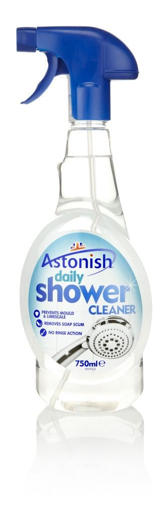 Astonish Daily Shower Cleaner Trigger Spray 750ml Prevents Mould & Limescale