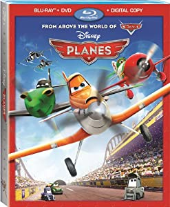 Cover Image for 'Planes (Blu-ray + DVD + Digital Copy)'