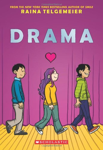 """""""Drama"""" av Raina Telgemeier"""
