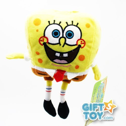 Nick Jr Spongebob Plush Doll - 7in Spongebob Stuffed Animal