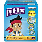 Pull-Ups Training Pants with Learning Designs for Boys, 4T-5T, 56 Count (Packaging May Vary)