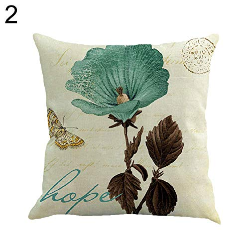 YHCWJZP Pillow Case -2019 Print Pillow Protectors Covers - Sofa Throw Cushion Cover Square Pillowcase-Home Bed Car Cafe Decorative (Best Outdoor Cushions 2019)