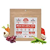 Nomad Nutrition Indian Red Lentil Stew - Nutrient Packed, Plant Based Protein Meals for Camping and Travel - Vegan, Gluten Free, Dairy Free, Non-GMO (3.5oz)