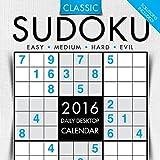 2016 Sudoku Daily Desktop Calendar by