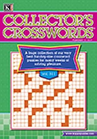 7a6cc002f8 Collectors Crosswords: Amazon.com: Magazines