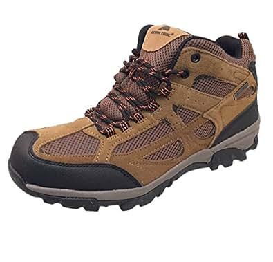 Amazon.com | Ozark Trail Mid Hiking Men's Shoe, Brown (10