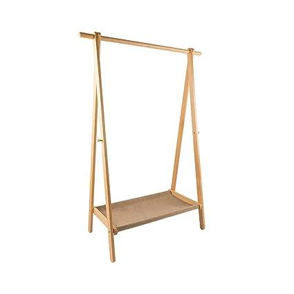 Amazon.com: Coat Racks Free Standing Nordic Solid Wood Coat ...