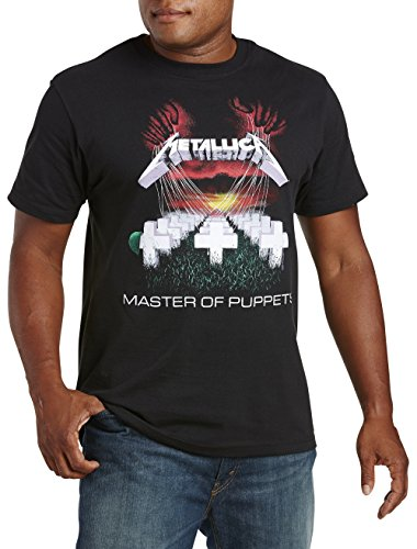 True Nation DXL Big and Tall Metallica Master Of Puppets Graphic Tee (Tall Master)