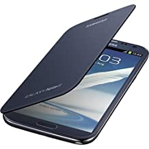 Samsung Galaxy Note 2 Flip Cover Case (Pebble Blue)