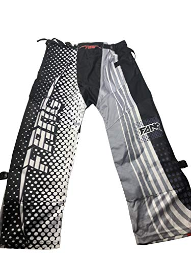 Fang Inline Roller Hockey Pants Adult Senior (Grey Stripes, Medium) ()