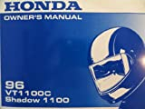 1996 Honda VT1100 Owners Manual VT 1100 C Shadow