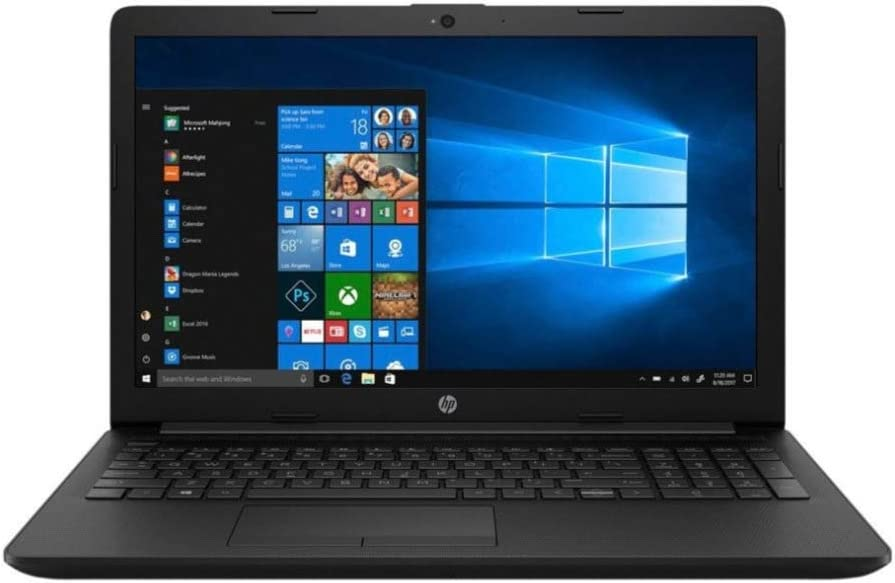 HP 15-DB00 15.6-Inch HD Backlit WLED AMD A4-9125 Processor 4GB 1TB HDD Win 10 Laptop