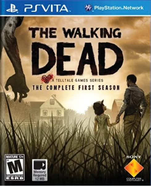The Walking Dead Playstation Vita Sony Computer Entertainme Video Games