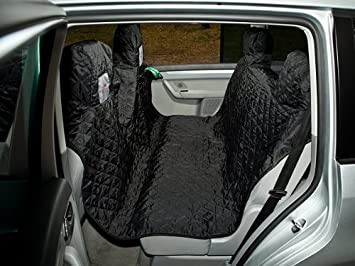 HOBBYDOG Standard Car Seat Cover, X-Large, Grey 4036190105139