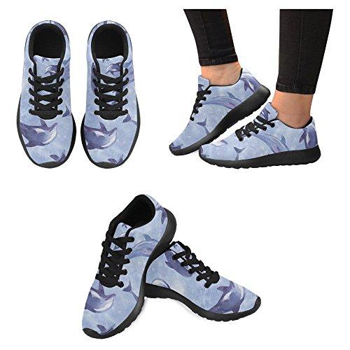 10 Lightweight Running Shoes Sneaker Easy for Casual Jogging Women Running Multi Walking Go Sports Women's InterestPrint vSPIqwZx